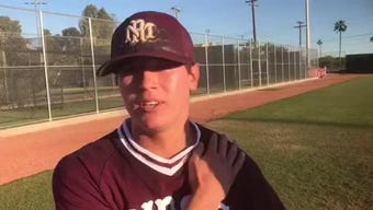 Zach Martinez threw a four-hit shutout in Mountain Ridge's 6-0 win at Brophy that moves the Lions into the 6A baseball tournament