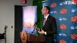 Midwestern State University introduced Justin Leslie as the new head coach of the men's basketball program Thursday morning.