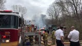 A fire occurred Thursday in Green Oak Township.