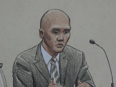 AP Debrief: Ex-cop: Fired 'to stop threat'