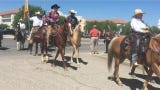 Cowboys for Trump, a group of conservatives from southern New Mexico, rode into Las Cruces April 25, 2019, in support of President Donald Trump and issues they support.