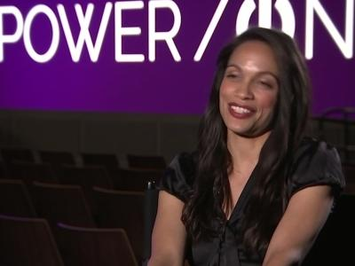 Rosario Dawson: Cory Booker is 'a wonderful man'