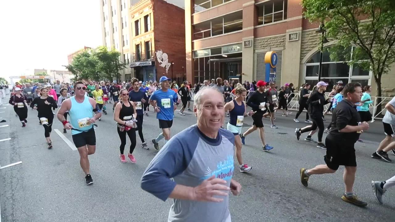 Kentucky Derby Festival Marathon Minimarathon Winners And Times