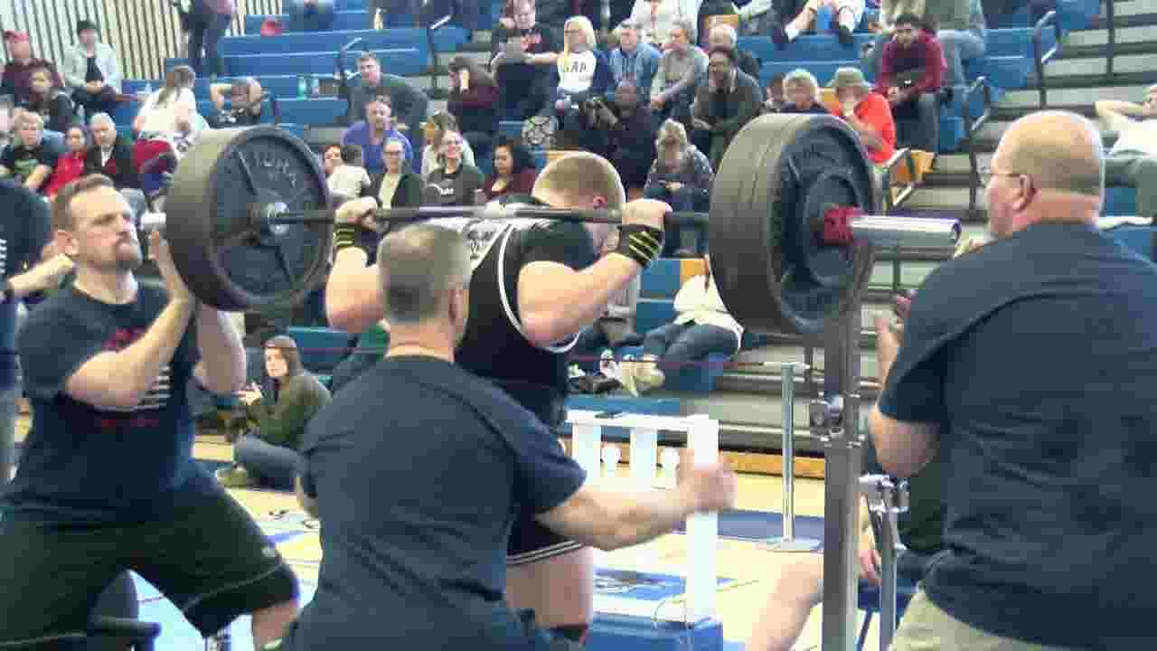 PSCPA State Powerlifting Championships held in central Pa  for first time,  records set