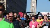 Start and finish of the St. Jude Nashville Marathon