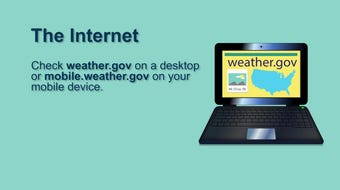 How to get weather alerts