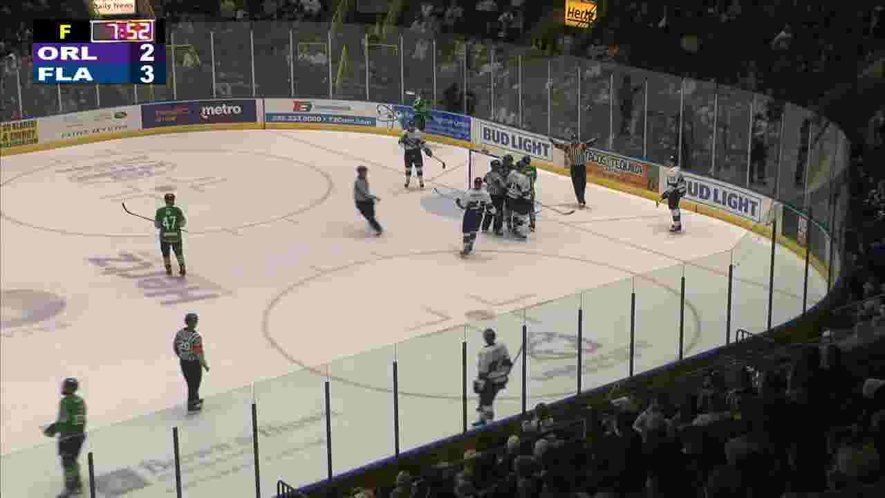 Florida Everblades Pull Out Overtime Win In Game 2 Even Series