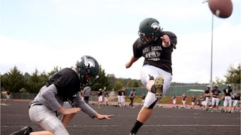 West Salem High School's Kyla Gordon is going to join Willamette University football's tradition of female kickers.