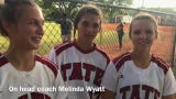 Tate seniors Gabby Locke, Shelby McLean and Amber Decoux have Tate softball on a mission in Thursday's district title game