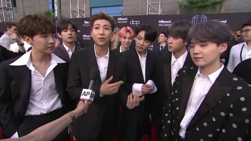 BTS: 'We're just seven normal boys from Korea'