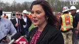 Gov. Gretchen Whitmer shared thoughts about career paths in the skilled trades at Operating Engineers 324 Construction Career Center in Howell Twp.