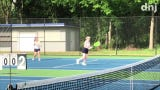 Highlights of Thursday's District 7 Large tournament at Adams Tennis Complex.