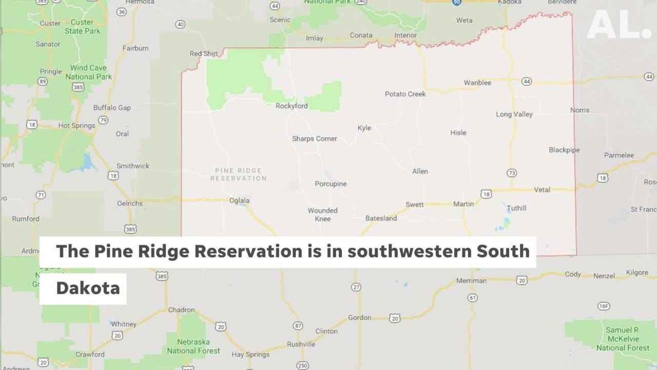 Tribe sends letter to Gov  Noem banning her from reservation