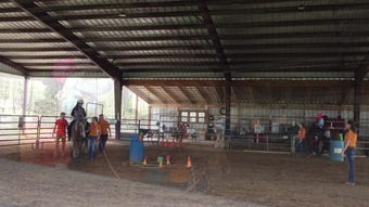 Breaking Free Therapeutic Riding Center  offers horse riding for individuals with physical, emotional or mental challenges.