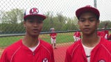 Roy C. Ketcham's David and Anthony Vose, Quentin and Phoenix Bowman and Bryce and Kolby Mordecki talk about baseball and playing on the same team.