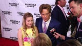 Larry Birkhead and daughter, Dannielynn, attend the 2019 Barnstable Brown Derby Eve Gala.