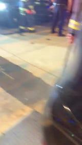 Raw video of the aftermath of a motorist driving into a pizza shop in Pennsauken. https://www.courierpostonline.com/story/news/local/south-jersey/2019/05/04/pennsauken-nj-pizza-shop-crash-investigation-camden-county-prosecutor/1101807001/