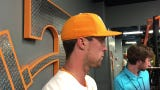 Tennessee's Andre Lipcius had a homer in UT's loss to Missouri
