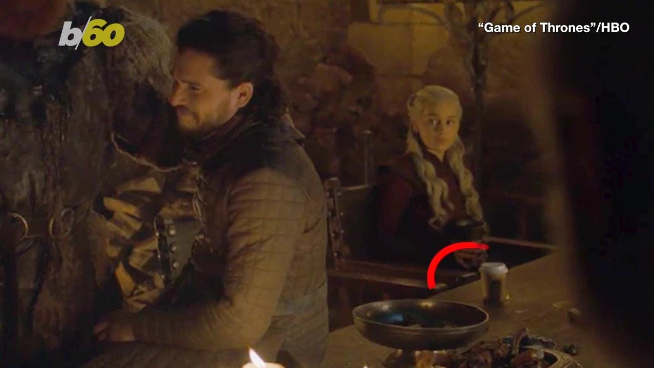 Game Of Thrones Was That A Starbucks Cup We Saw
