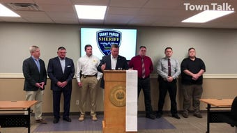 Law enforcement from Grant and Rapides parishes held a press conference on Monday (May 6, 2019) to discuss the case of Justin Grant Walters. The Colfax man is in custody in Grant Parish, accused of kidnapping, rape and other crimes, but authorities believe more victims might be out there.