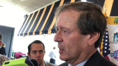Monmouth Park CEO Dennis Drazin expects Maximum Security to run in Haskell