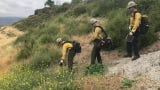 The Ventura County Fire Department, Cal Fire and the Ventura County Sheriff's Office demonstrate how they get ready for wildfire season in California.