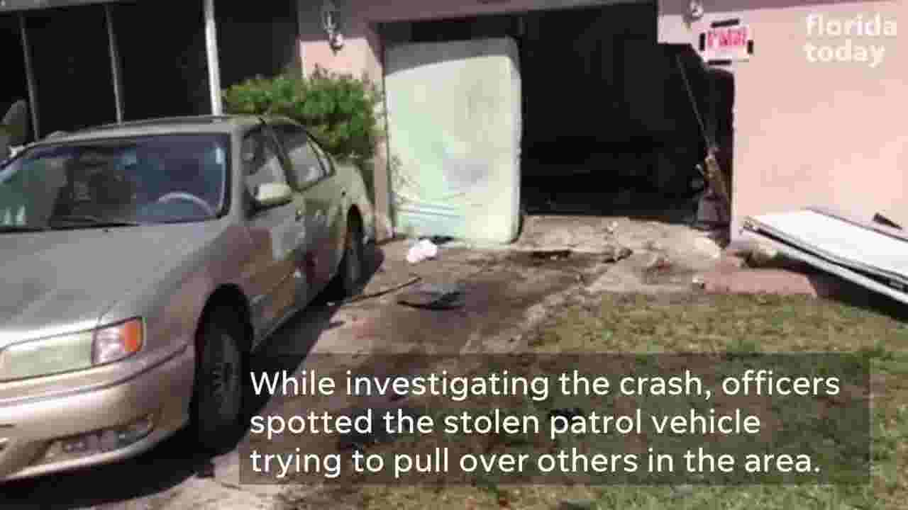 Cocoa home unsafe after car crashes into it early Thursday morning