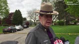 New York State Police Major Brian Shortall discusses fatal home invasion in Apalachin May 9, 2019.