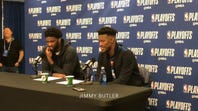 Jimmy Butler, Joel Embiid on Sixers' Game 6 win