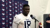 """Titans' WR A.J. Brown is a former high school and college rival of DT Jeffery Simmons. Now? """"I'm glad he's on my team,"""" Brown said."""
