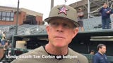 Vanderbilt coach Tim Corbin was impressed with relief pitcher Hugh Fisher, who struck out eight of 10 batters in Sunday's win over Missouri.
