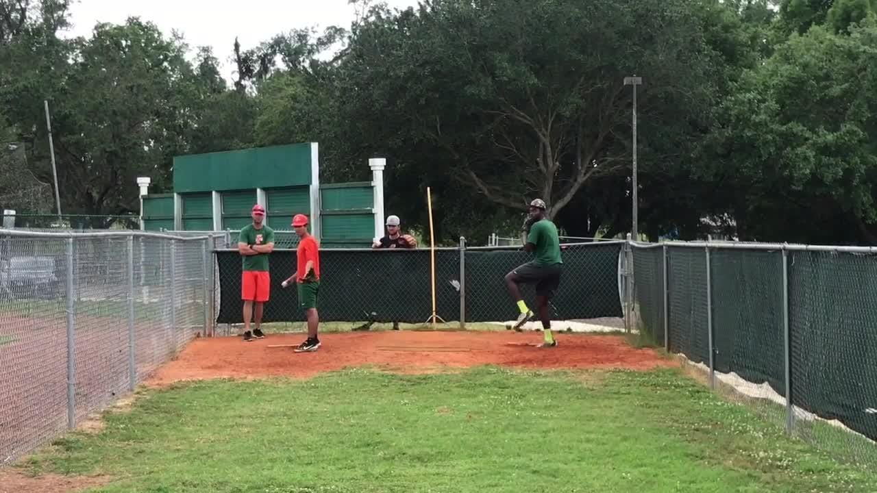 WATCH: FAMU bullpen session with Morgan Mendez and Tommy Ben