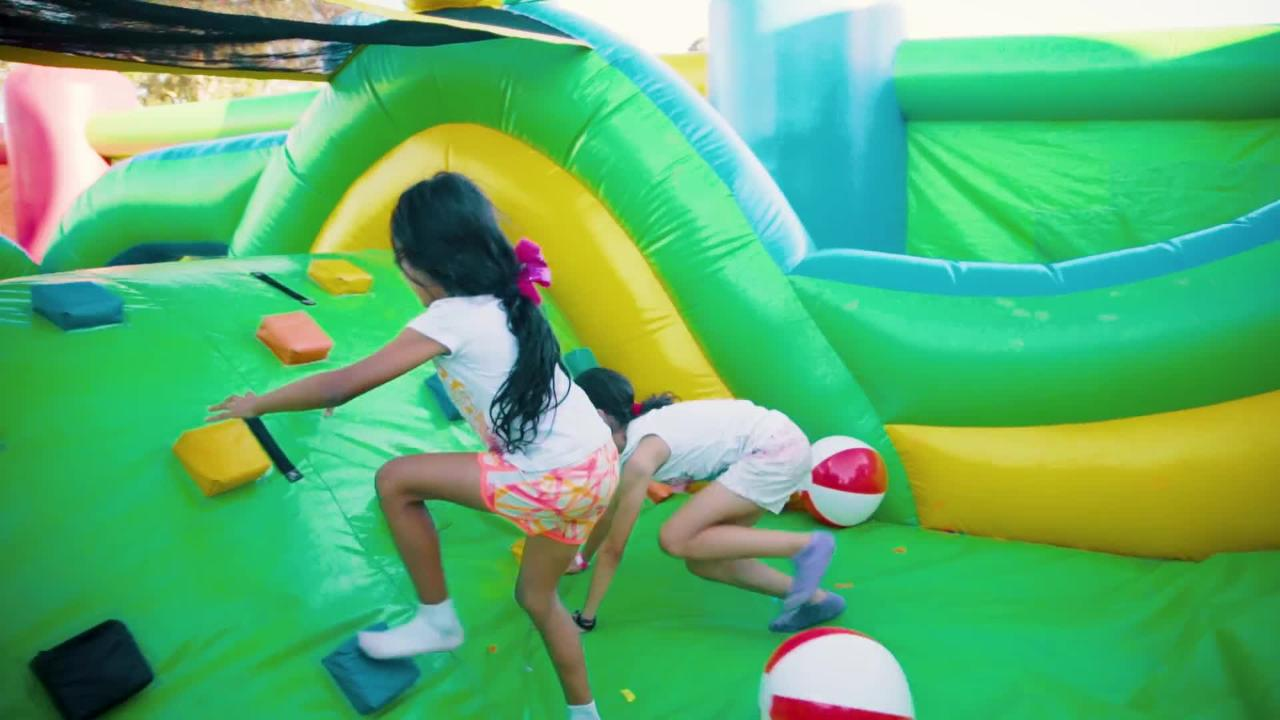 World's largest bounce house coming to Fraser, Grand Rapids