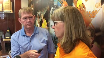 Tennessee softball co-coach Karen Weekly's discusses the Lady Vols' seeding in the NCAA Tournament.