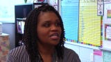 Tameka Marshall teaches third grade at Norman Binkley School.