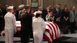Former U.S. Sen. Richard Lugar lies in state as final tribute to a life of service and hope.