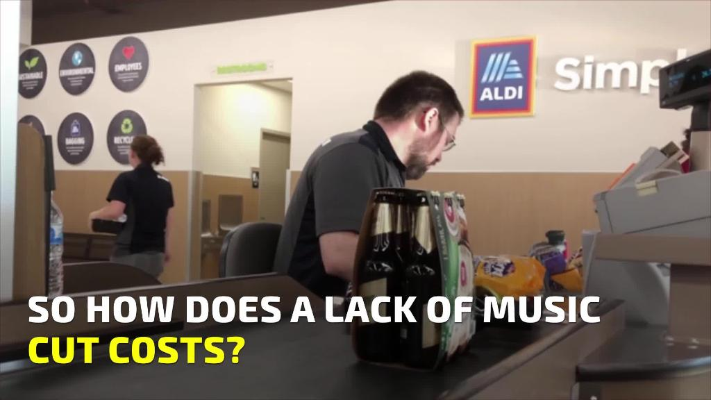 Why Aldi doesn't play music