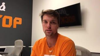 Tennessee third baseman Andre Lipcius is having a major junior season for the Vols.