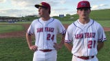 Zane Trace won a sectional semifinal over Gallia Academy 6-4 at home on Tuesday. Chad Ison and Cam Farley discussed the win.
