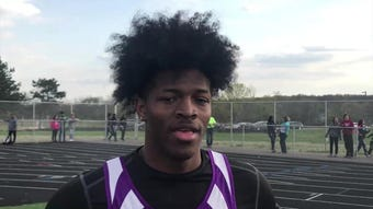 Purgolders standout Elijah Johnson shares his thoughts on his progress this season in the 100 and 200 meters.