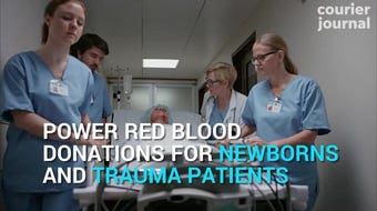 Have you thought about becoming a blood donor?
