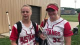Westfall softball won a district semifinal 10-0 over Alexander on Wednesday. Marcy Dudgeon and and Sami Tackett discussed the win here.