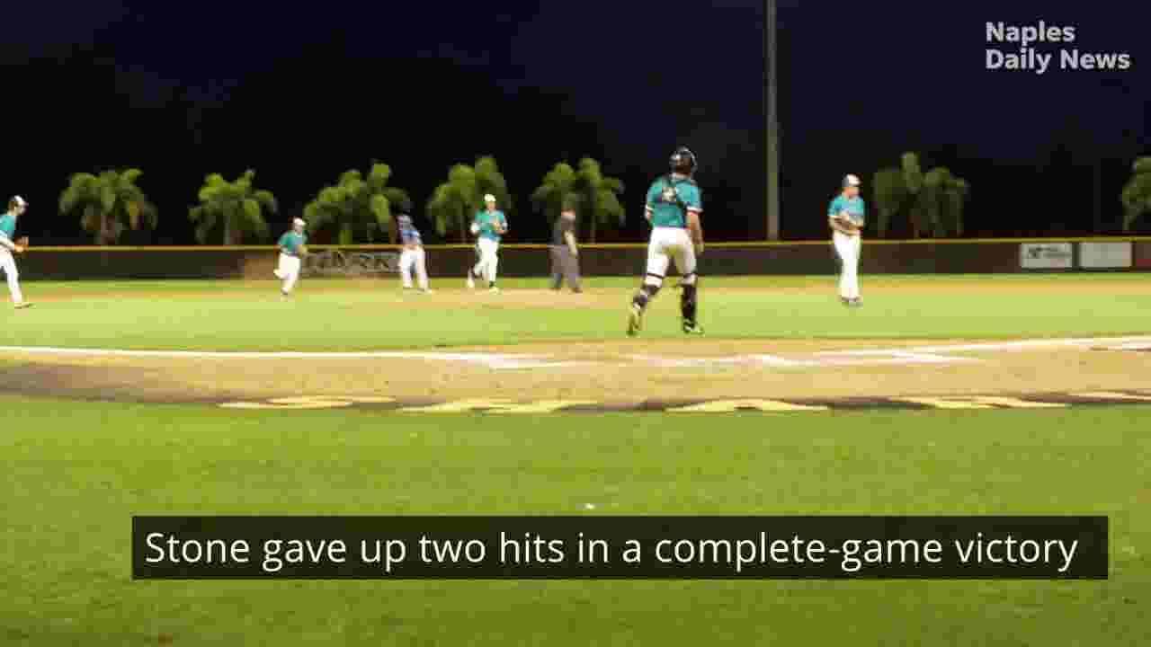 Stone pitches Gulf Coast baseball to regional win over Charlotte