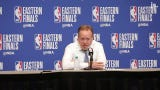 Bucks head coach Mike Budenholzer talks Malcolm Brogdon's performance in Game 1 of the Eastern Conference Finals