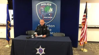 Police give an update on the shooting at the Valley Transit Center in downtown Appleton.