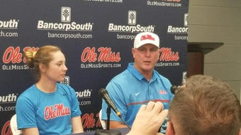 Ole Miss softball coach Mike Smith talked about his level of excitement heading into the Rebels' second NCAA Regional hosting job in program history.