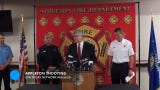 Officials held a news conference Thursday to discuss Wednesday's downtown Appleton shooting that left a firefighter dead, three others injured.