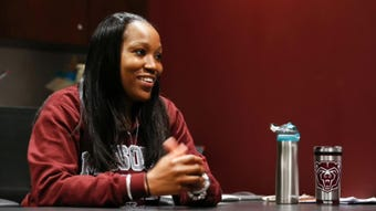 Listen to our entire interview with new Missouri State Lady Bears head coach Amaka Agugua-Hamilton