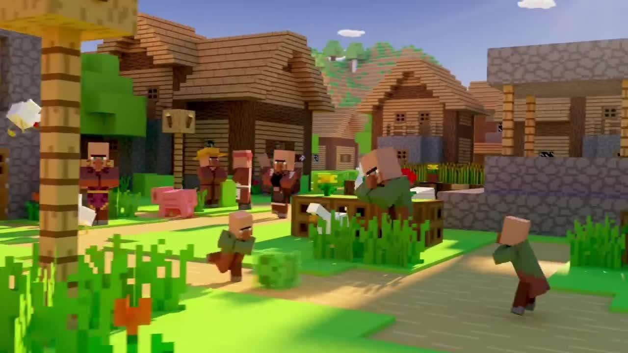 'Minecraft' Village & Pillage Launch Trailer