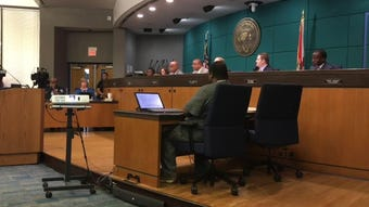 Following the arrest of Dave Isnardi and Jose Aguiar,some residents expressed anger at members of the city council who are accused of wrongdoing.